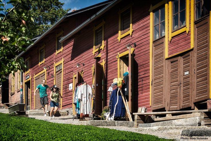Toivola Old Courtyard. ©Visit Jyväskylä  Photo: Nina Huisman.