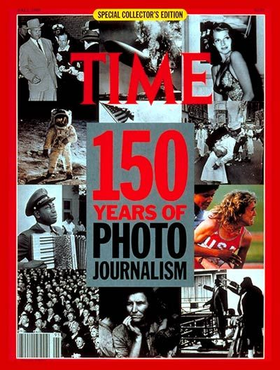 TIME Cover: 150 Years of Photojournalism