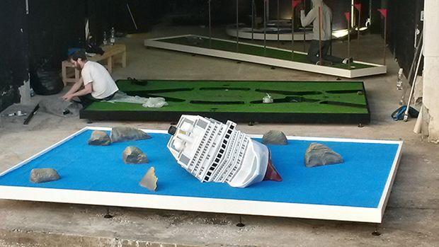 Costa Concordia Hole (2015) - Doug FIshbone