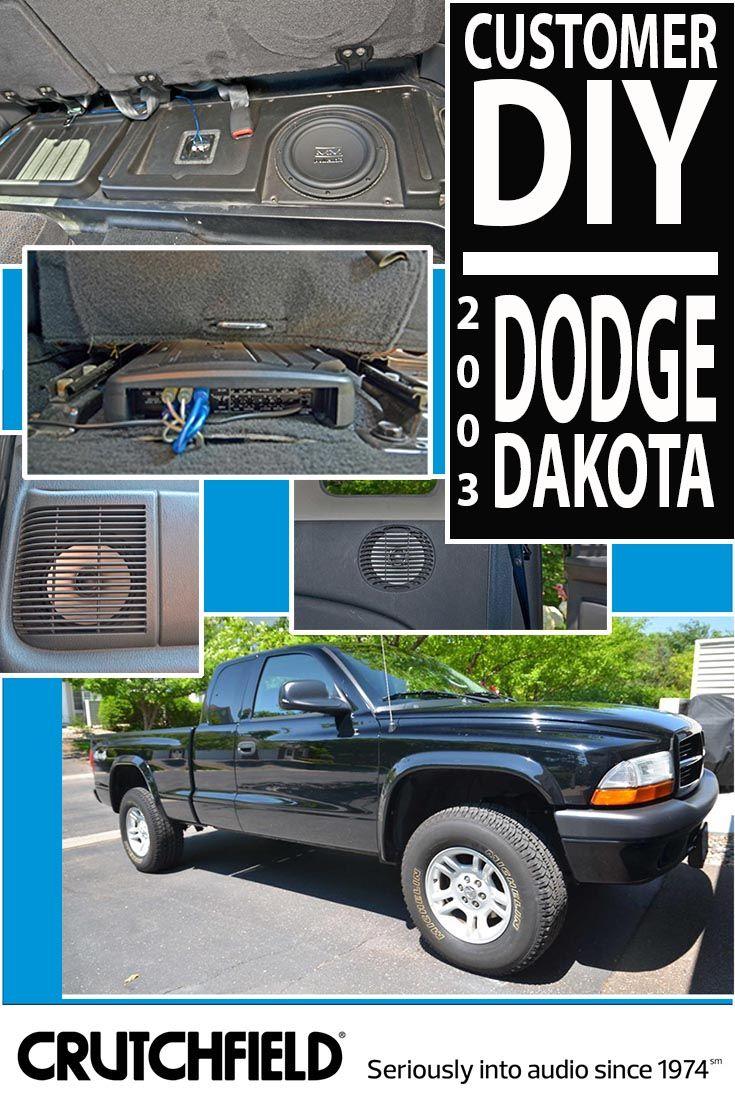 Tracy Gave His 2003 Dodge Dakota A Subtle But Substantial