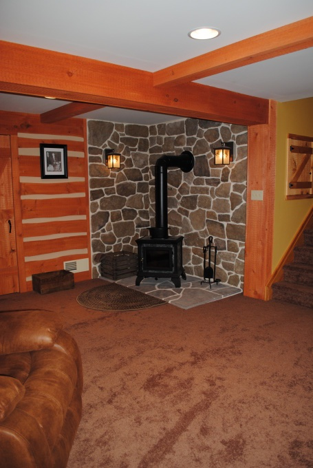 Pot Bellied Gas Stove Basement Pinterest Stove Gas