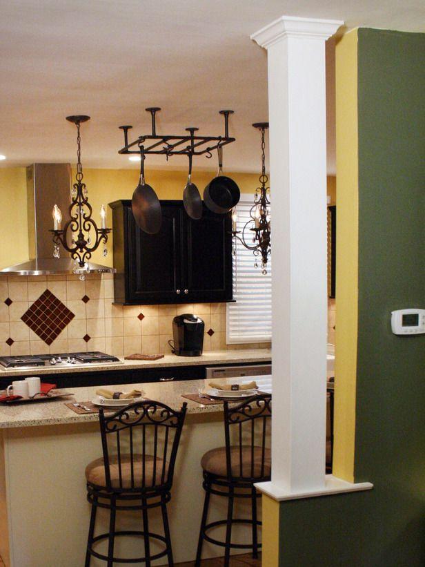 Kitchens With Columns best 25+ kitchen columns ideas on pinterest | exposed brick