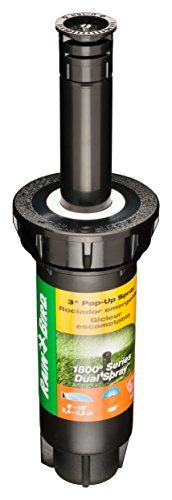 """Best price on Rain Bird 1803DSH 3"""" Professional Dual Spray Pop-Up Sprinkler, 180° Half Circle Pattern, 8' - 15' Spray Distance  See details here: http://bestgardenreport.com/product/rain-bird-1803dsh-3-professional-dual-spray-pop-up-sprinkler-180-half-circle-pattern-8-15-spray-distance/    Truly a bargain for the new Rain Bird 1803DSH 3"""" Professional Dual Spray Pop-Up Sprinkler, 180° Half Circle Pattern, 8' - 15' Spray Distance! Have a look at this low cost item, read customers' feedback on…"""