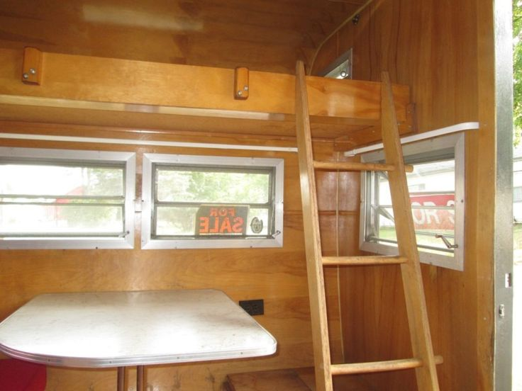 1963 Vintage 11 ' Yellowstone Travel Trailer Canned Ham Camper Stored ...