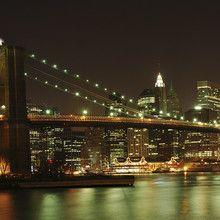 Fototapet - Brooklyn Bridge Full View