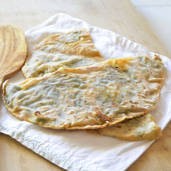 Bukme is still another type of borek kind of food. It looks like gozleme too, but not oily like it. This is normally cooked over wood fire on an iron plate.