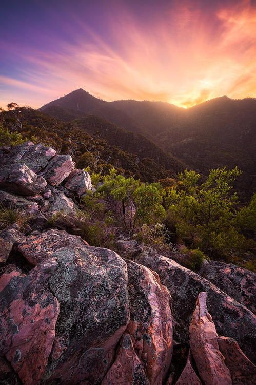 Mt Remarkable National Park, South Australia. #Australia #NationalPark #sunset #SA #SouthAustralia