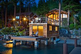 WSJ: Kelly Rodriques and his wife, Lynda Lucero, paid $2.4 million for this property on the eastern shore of Lake Tahoe in 2002.
