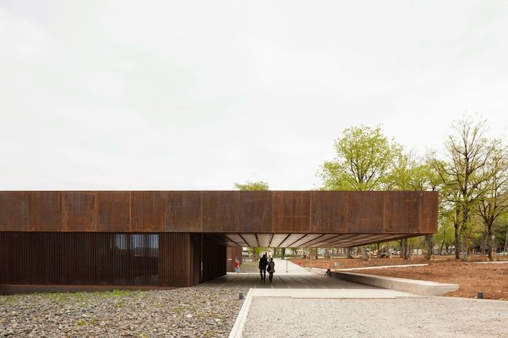 Musée Soulages by RCR Arquitectes with Passelac & Roques Arquitectes in Rodez, France, 2014