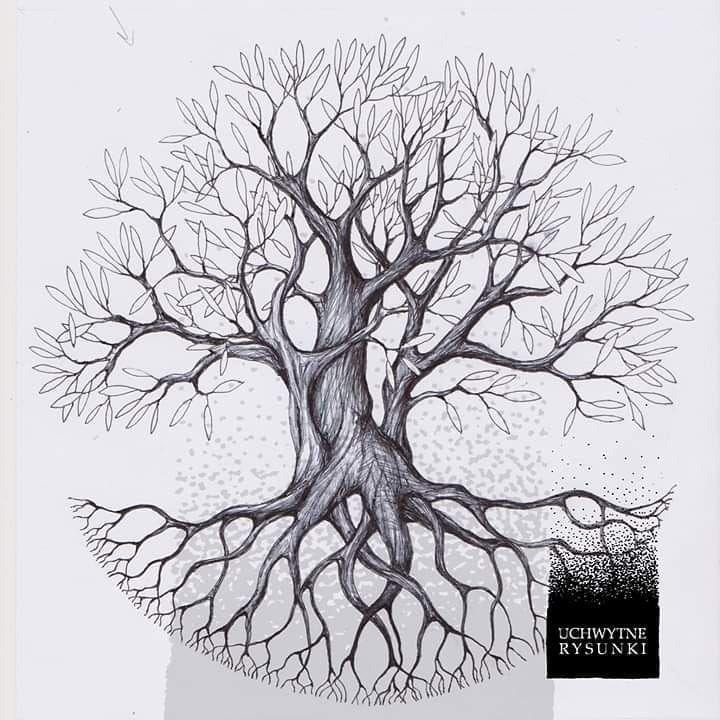 Art Design Black White Grey Pen Ink Tattoo Creative