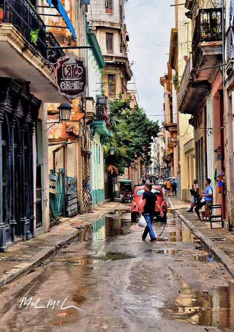 Calle de La Habana,CubA