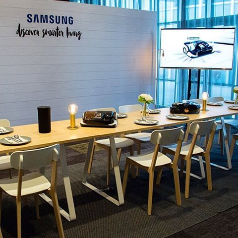 The #internetofeverything is happening now! And @samsungau are leading the charge with their #ConnectedHome and #discoversmarterliving campaigns!  We've loved working with them and #TheSpaceship to deliver these events!