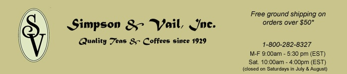 Simpson & Vail, Inc.-tea party recipes