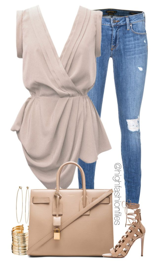 """Casual Chic"" by highfashionfiles ❤ liked on Polyvore"