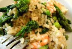 Risotto Asparagi e Scampi al Microonde | Ricette microonde