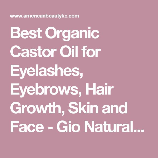 Best Organic Castor Oil for Eyelashes, Eyebrows, Hair Growth, Skin and Face - Gio Naturals Premium Grade 100% Pure Cold Pressed USDA Certified & Hexane Free - Grow & Strengthen Your Hair Naturally! - Luxury Beauty Care Products !