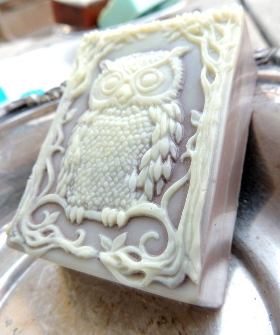 Hey, I found this really awesome Etsy listing at https://www.etsy.com/listing/128852857/owl-soap-what-a-hoot-tan-and-cream-extra