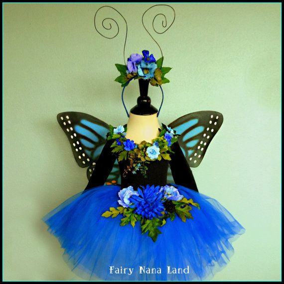 Monarch Butterfly Fairy Princess  childrens size by FairyNanaLand, $85.00