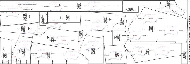 Descarga gratis el Patrónde Chaqueta de Mezclilla con Forro de Borrego para Hombres disponible en 9 tallas desde las Tallas Juveniles hasta las Tallas EXTRAGRANDES