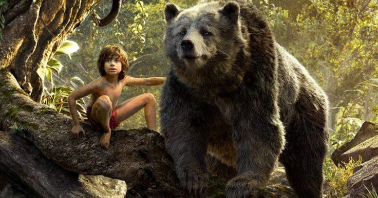 Disney's 'Jungle Book' Triptych Poster Introduces Mowgli and Friends -- Take a look at the full cast of characters in their natural habitat in a new triptych poster for Disney's 'The Jungle Book'. -- http://movieweb.com/jungle-book-movie-triptych-poster/