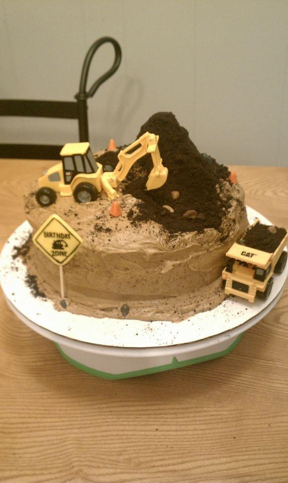 25 Best Ideas About Excavator Cake On Pinterest