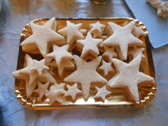 Starfish sandwiches