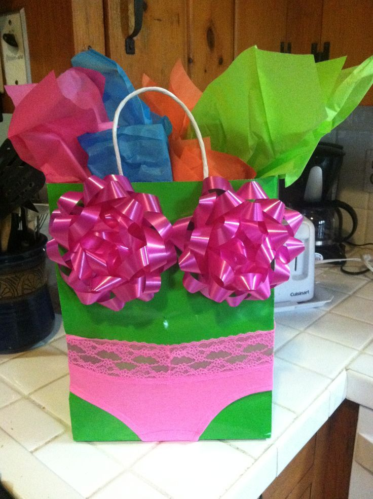 Neon bachelorette party Love the way its wrapped!