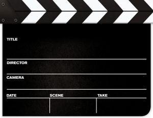 movie party ideas - Google Search Cute invitation idea