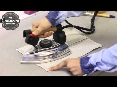 Доп. приспособления для утюжки. Своими руками. Обучение кройке и шитью онлайн в школе GRASSER - YouTube