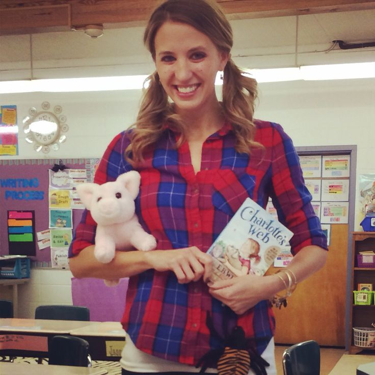 Book Character Halloween Costume - Fern from Charlotte's Web