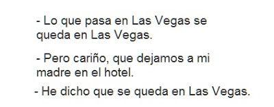 El Cosmos de Yoma: Chiste: Las Vegas