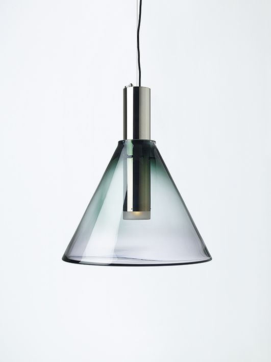 PHENOMENA Smoke Grey  by Dechem studio #bomma #bommalighting #crystal #mouthblown #design #czechdesign #lighting #pendant #czechrepublic #crystallighting #designlighting #glassdesign #lightdesign #lightingdesign