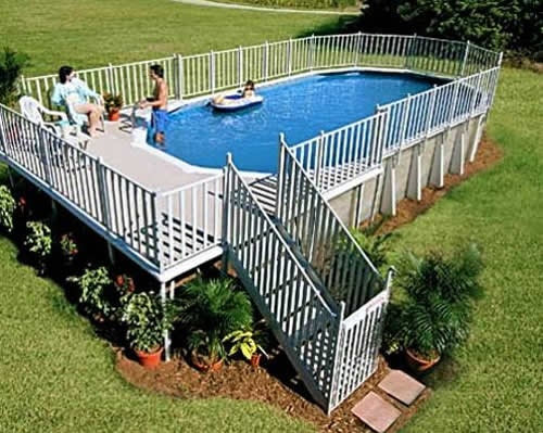 Download landscaping pools and landscaping ideas 60 for Above ground pool decks indianapolis
