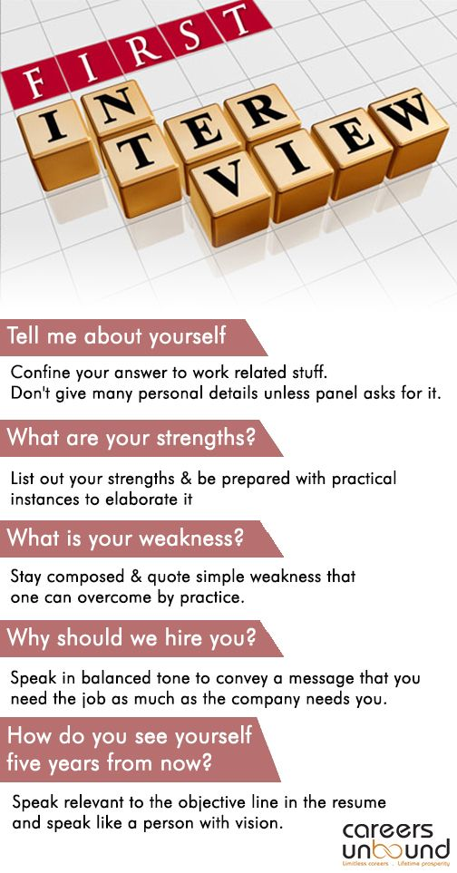 How to answer some common interview questions