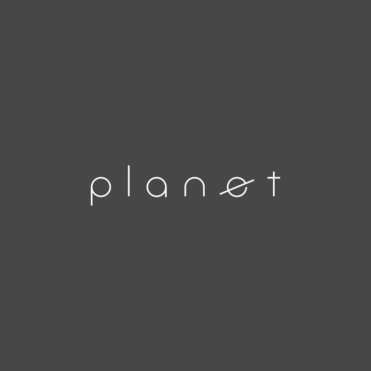 "279/365: Planet I've created the letter ""E"" hundreds of times and today was the first time I turned it into Saturn. There is ALWAYS a simpler way to communicate a concept in logo design. But you must be intentional in how you go about simplifying something. It's all about presentation. The custom font spacing geometry etc. took longer than the E by itself. ""What angle should Saturn be rotated to? Should the lines have round ends or flat?"" Designers need to think about questions like these..."