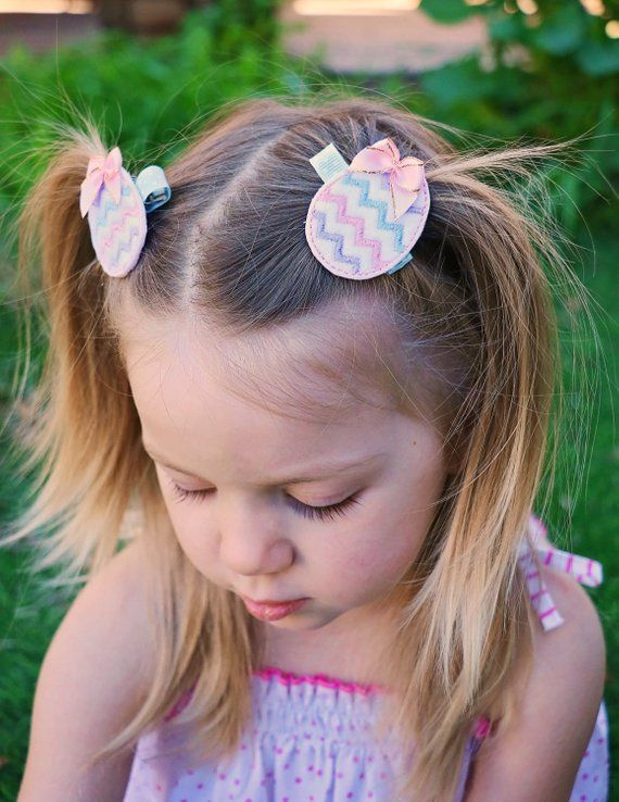 baby bow toddler little girl headband felt hair bows Rainbow baby headband Spring headband Bunny ears headband Baby Easter headband set