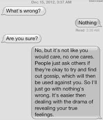 thats y i jut say good because people ask with any other answers not that they care anyway -R