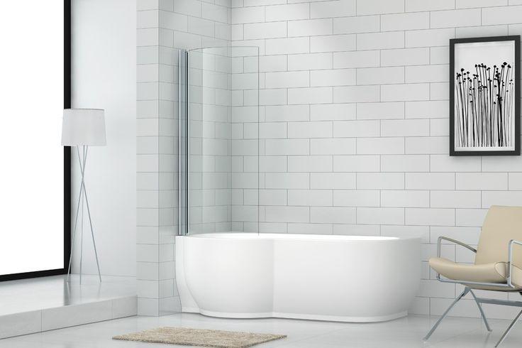 </br>  <p> Badekaret i ren hvit glassfiber armert akryl har en blank overflate som gjør det hygienisk. Justerbare føtter på en aluminium ramme stabiliserer badekaret, tåler stor belastning og gir mulighet for tilpasning ved fall på badegulvet.  Badekare