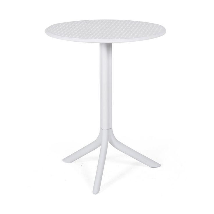 Läckert, färgstakt och tåligt! Step bordmed underhållsfri glasfiberförstärktplast. Kombinera med Bora karmstol eller Bora Bistrot och du har den perfekta