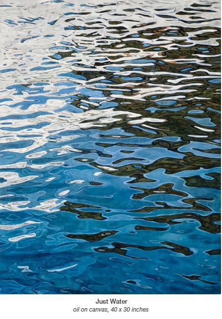 MOVEMENT- This a good example of movement because of the ripples. The ripples show that the water is moving.