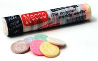 Necco Wafers - I wanted to like these.... I really did. In a word?  YUCK!  They do make great gingerbread house shingles though :)