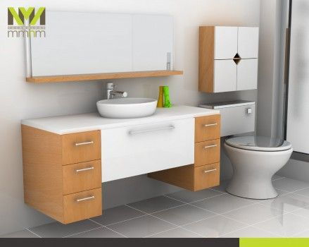 gabinetes para baño