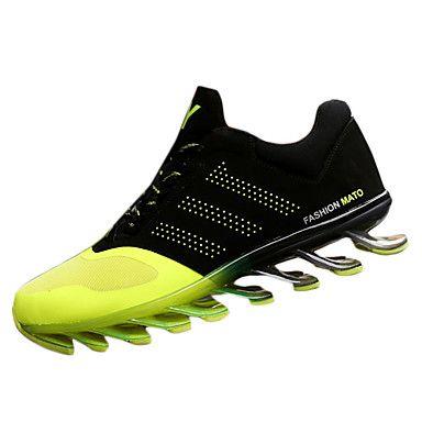 Черный+/+Синий+/+Зеленый-Мужской-На+каждый+день-Дерматин-На+плоской+подошве-Удобная+обувь+–+RUB+p.+1+841,74