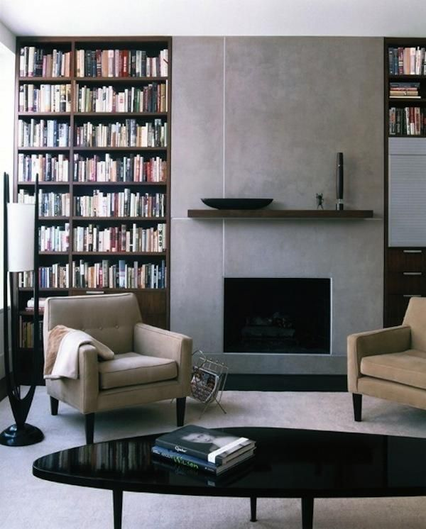 10 Favorites: Minimalist Fireplaces from Members of the Remodelista Architect/Designer Directory: Remodelista