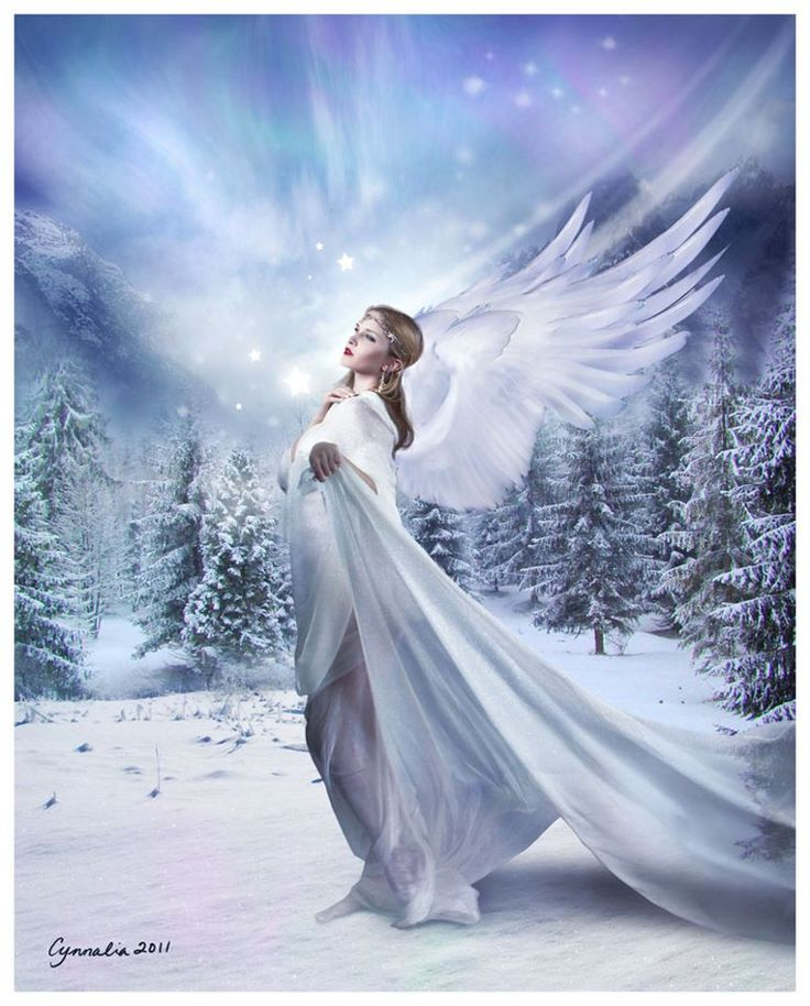 Winter's angel....