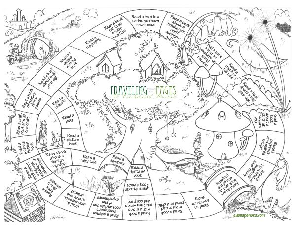 A fun summer reading program to download and print. Encourage your kids to read books from new genres this summer with this printable map and bookmarks.