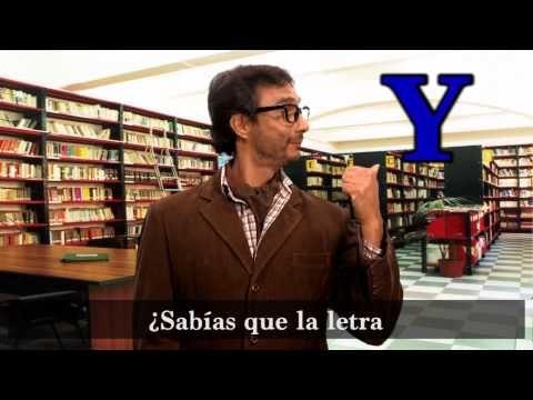"""Clases de español con: """"El Lingüista"""" - Nombres de la letra """"y"""": ¿ye o i griega?"""
