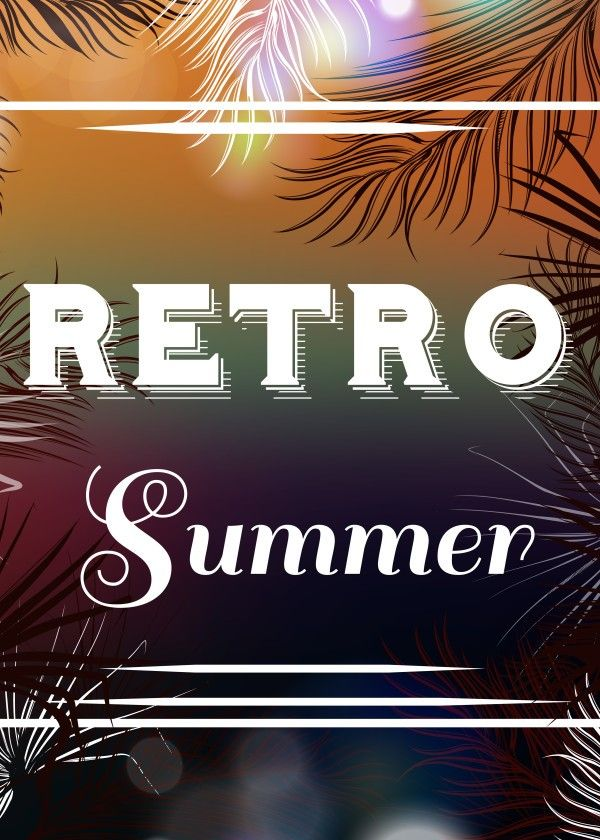 New art in our Designers shop. RETRO Summer, celebrate vintage Summer with our Displate. Collection 2016 is available.