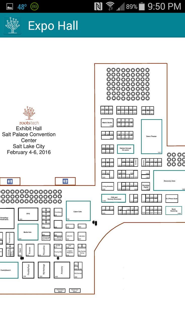 Jana's Genealogy and Family History Blog: The RootsTech 2016 Mobile App ~ Maps #RootsTech #genealogy