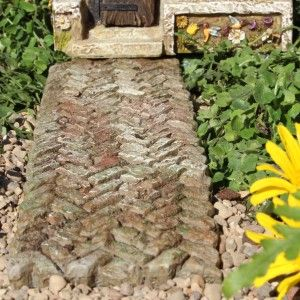 Fairy Garden Miniature Weathered Walkway  SHOP now   8 998 best Fairy Garden   Paths   Stepping Stones images on Pinterest  . Garden Paths And Stepping Stones. Home Design Ideas